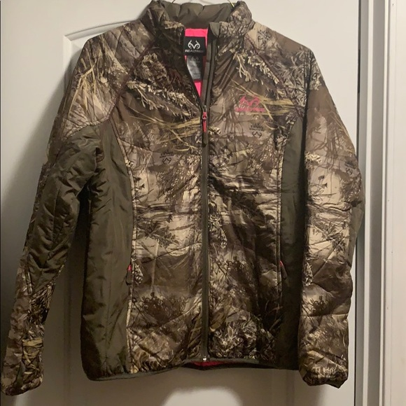 Real tree Camo puff jacket
